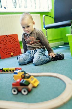 Wartezimmer - Spielbereich für Kinder