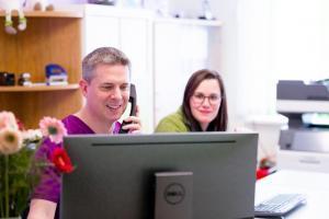 Terminvergabe persönlich, telefonisch, online